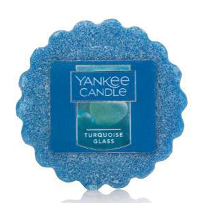 Yankee Candle Turquoise Glass Tarts Wax Potpourri Thumbnail
