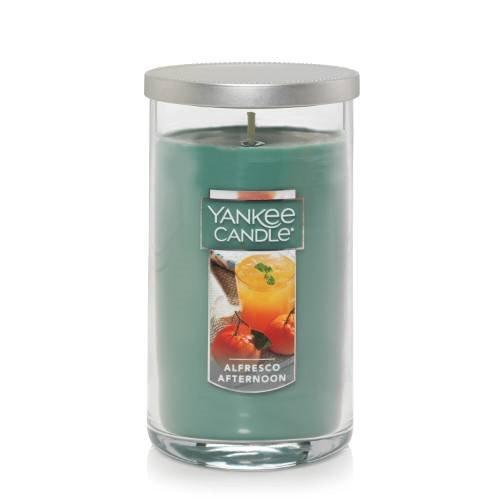 Yankee Candle Alfresco Afternoon Medium Perfect Pillar Candle Thumbnail