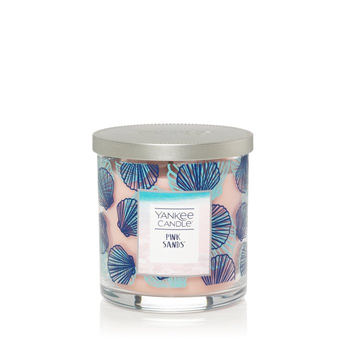 Yankee Candle Pink Sands Regular Tumbler Candle- Seashell Thumbnail