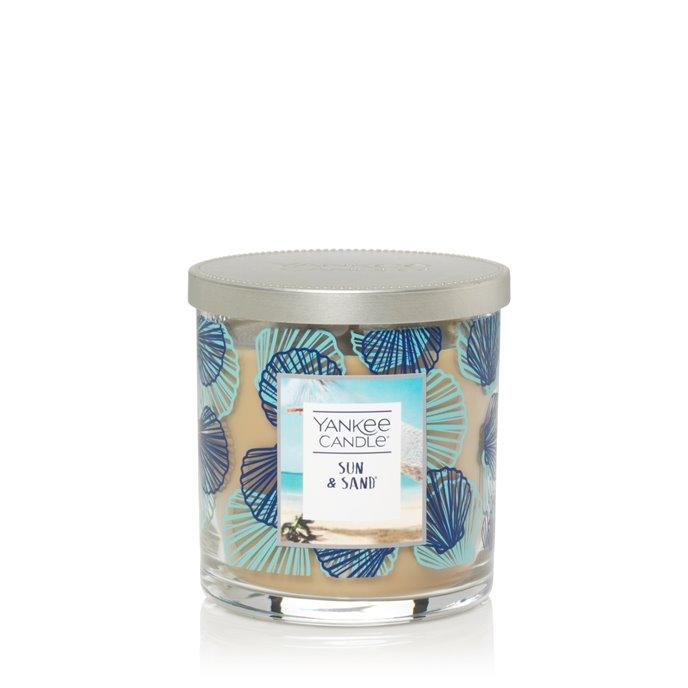 Yankee Candle Sun & Sand Regular Tumbler Candle- Seashell Thumbnail