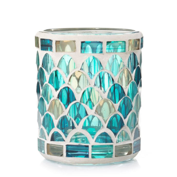 Yankee Candle Fresh Ocean Mosaic Votive Holder Thumbnail
