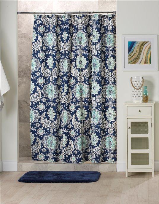 Belmont Harbor Shower Curtain Thumbnail