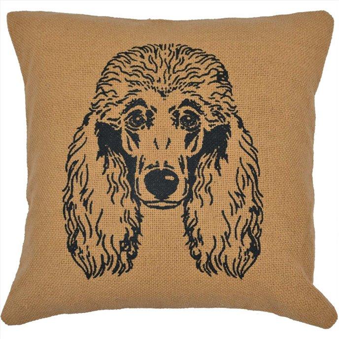 Poodle Pillow 16x16 Thumbnail