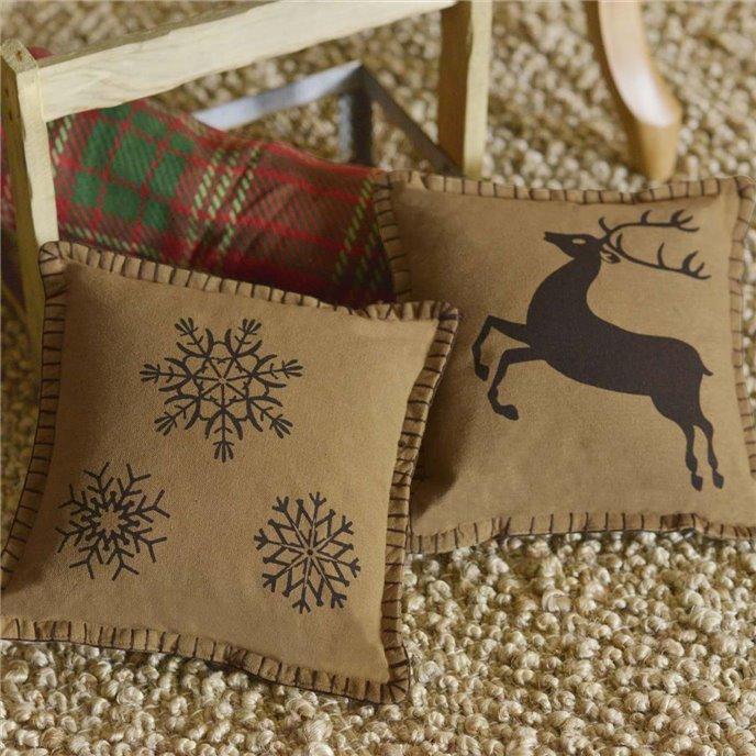 Prancer Pillow Set of 2 10x10 Thumbnail
