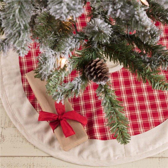 Red Plaid Mini Tree Skirt 21 Thumbnail