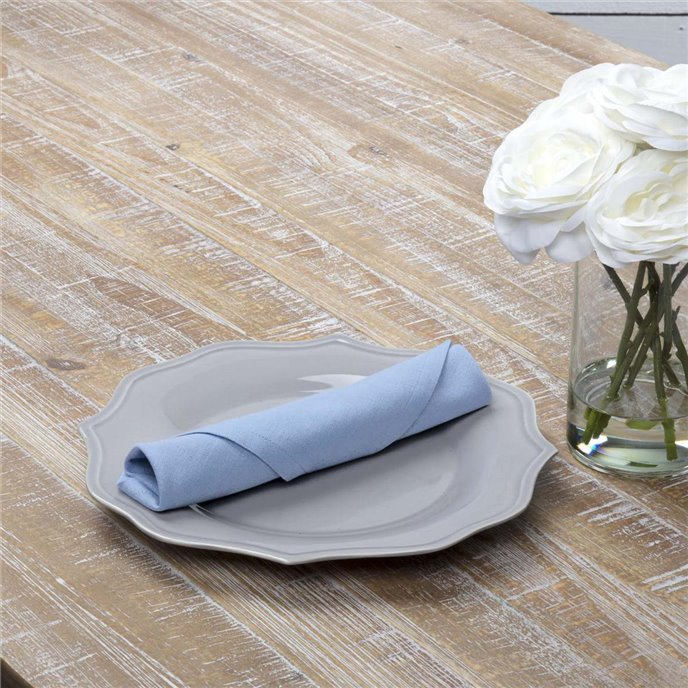 Sara Light Blue Napkin Set of 6 18x18 Thumbnail