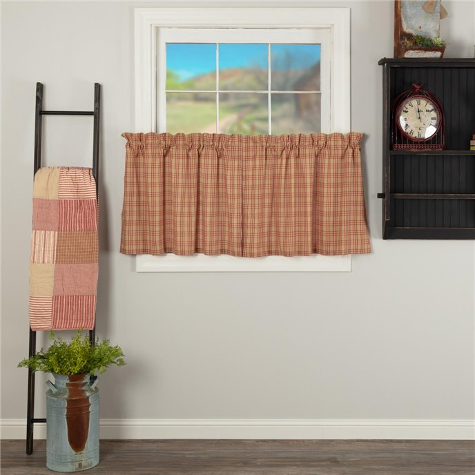 Sawyer Mill Red Plaid Tier Set of 2 L24xW36 Thumbnail
