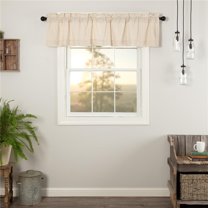 Simple Life Flax Natural Valance 16x72 Thumbnail