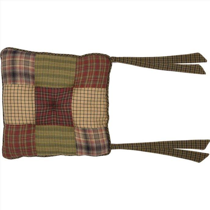 Tea Cabin Chair Pad Patchwork Thumbnail
