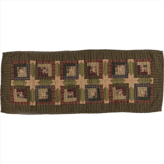 Tea Cabin Runner Quilted 13x36 Thumbnail