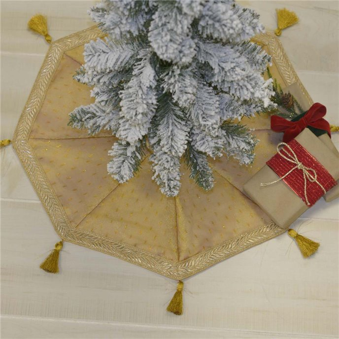 Tinsel Mini Tree Skirt 21 Thumbnail