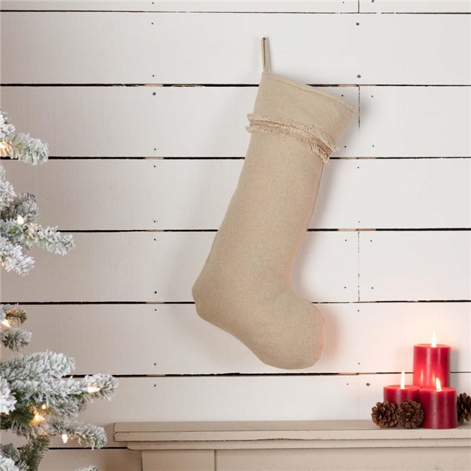 Vintage Burlap Stocking 12x20 Thumbnail