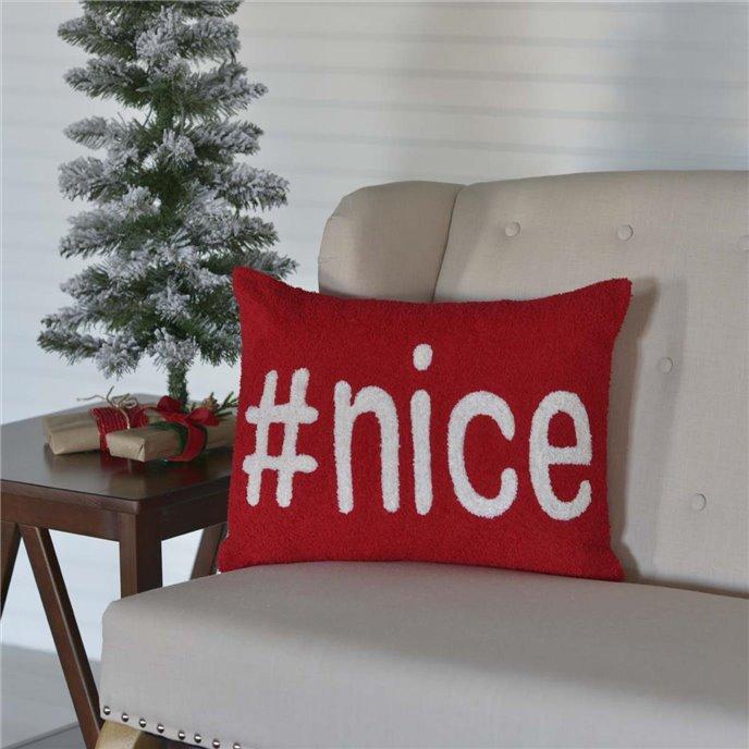 #Nice Pillow 14x18 Thumbnail