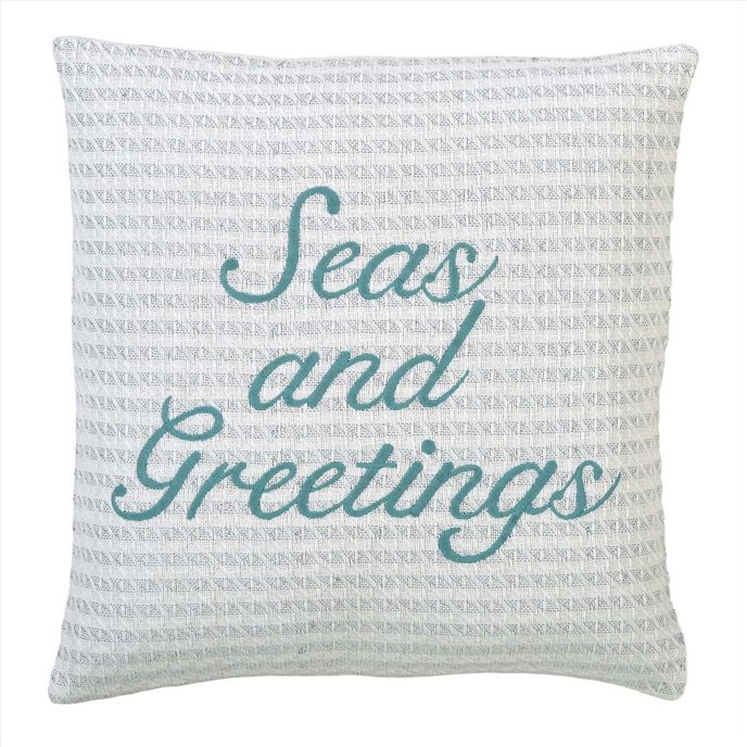 Arielle Seas and Greetings Pillow Cover 18x18 Thumbnail