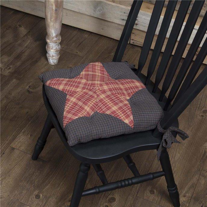 Arlington Chair Pad Patchwork Star Thumbnail