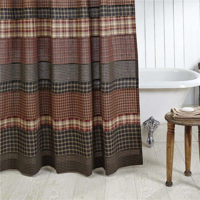 Beckham Shower Curtain 72x72 Thumbnail