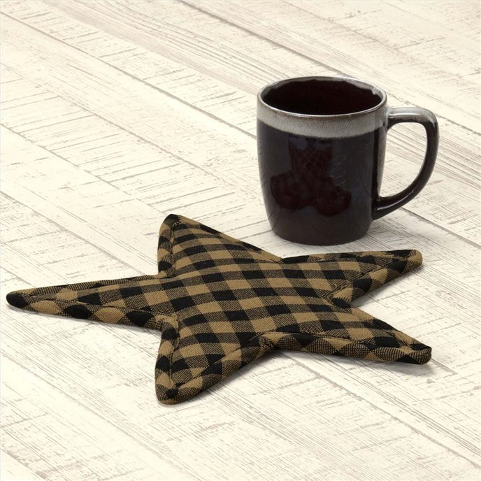 Black Star Trivet Star Shape 10 Thumbnail