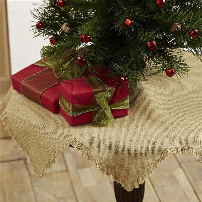 Burlap Natural Mini Tree Skirt 21 Thumbnail