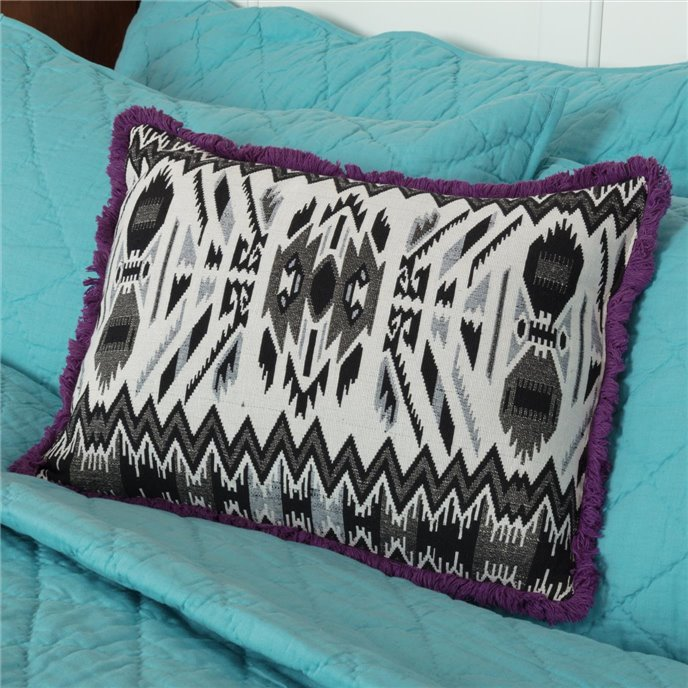 Cassidy Jacquard Pillow 14x18 Thumbnail