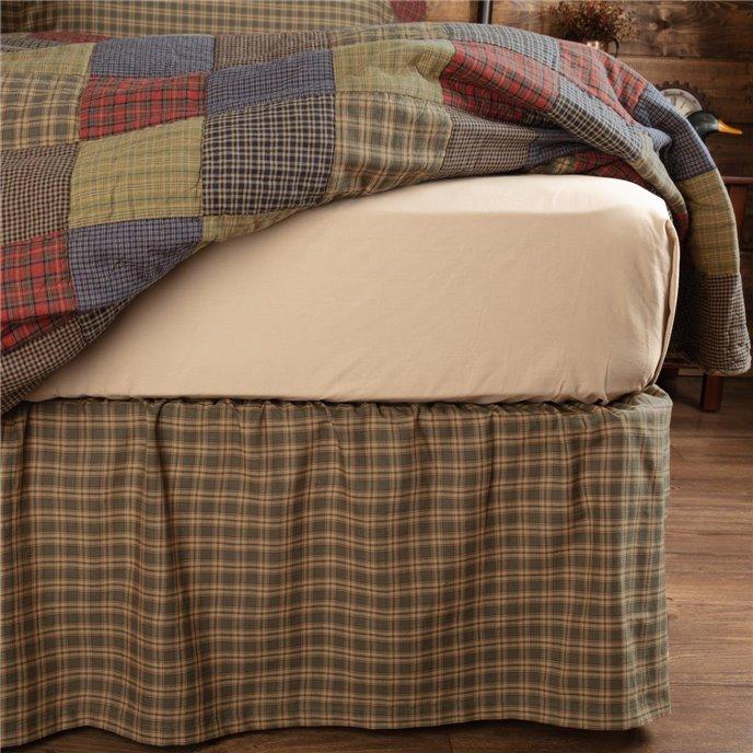 Cedar Ridge King Bed Skirt 78x80x16 Thumbnail