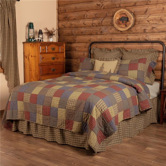 Cedar Ridge California King Quilt 130Wx115L Thumbnail
