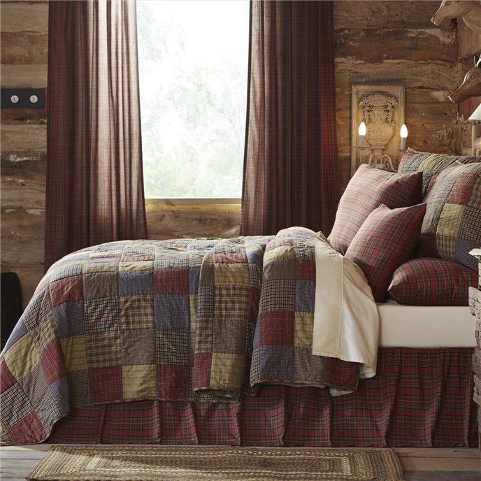 Cedar Ridge Twin Set; 1-Quilt 86x68 w/1 Sham 21x27 Thumbnail