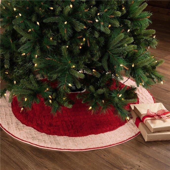 Chenille Christmas Tree Skirt 48 Thumbnail