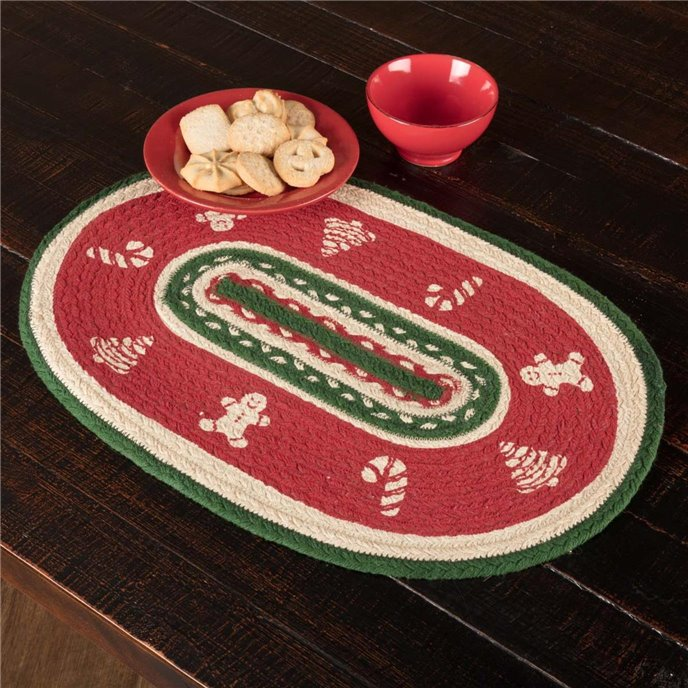 Christmas Cookies Placemat Set of 6 12x18 Thumbnail