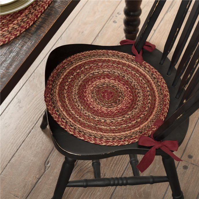 Cider Mill Jute Chair Pad Set of 6 Thumbnail
