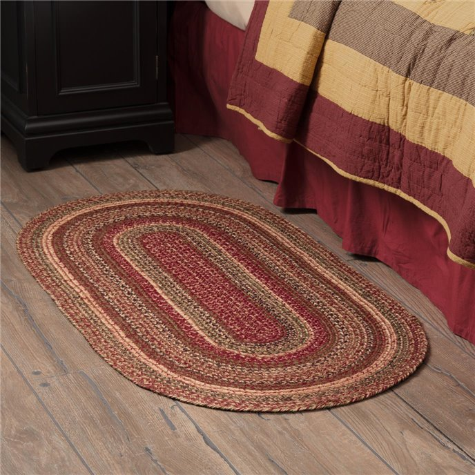 Cider Mill Jute Rug Oval 27x48 Thumbnail