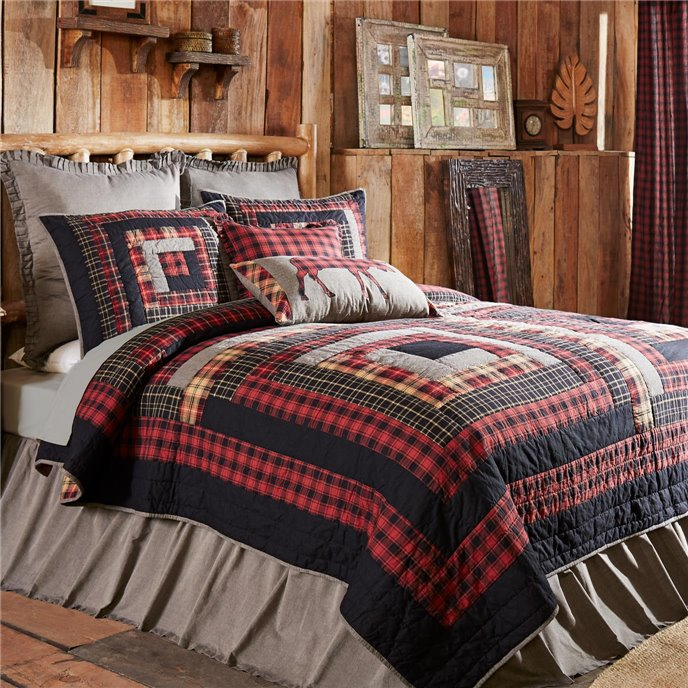 Cumberland California King Quilt 130Wx115L Thumbnail