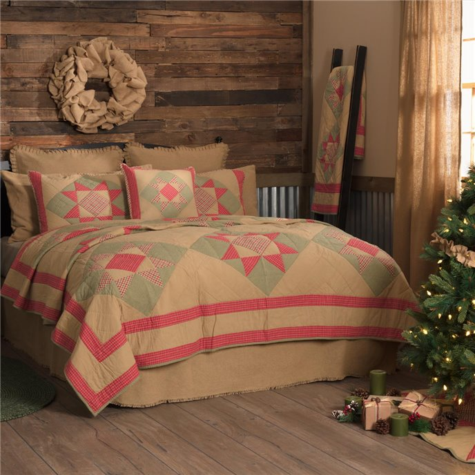 Dolly Star Luxury King Quilt 120Wx105L Thumbnail