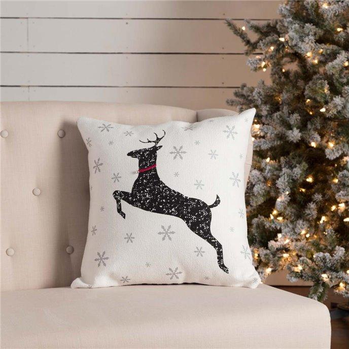 Emmie Deer Pillow 18x18 Thumbnail