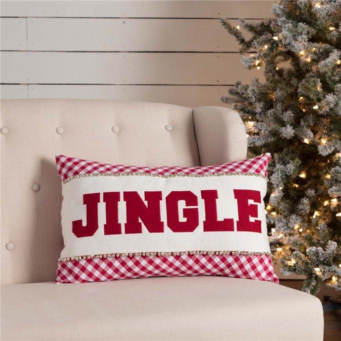 Emmie Jingle Pillow 14x22 Thumbnail