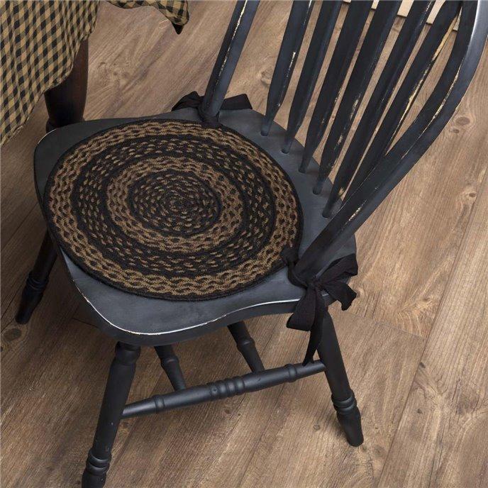 Farmhouse Jute Chair Pad Set of 6 Thumbnail