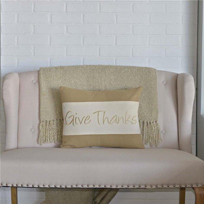 Give Thanks Pillow 14x18 Thumbnail