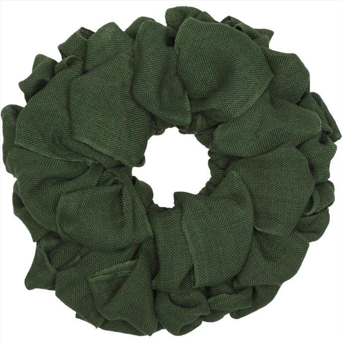 Green Burlap Wreath 15 Thumbnail