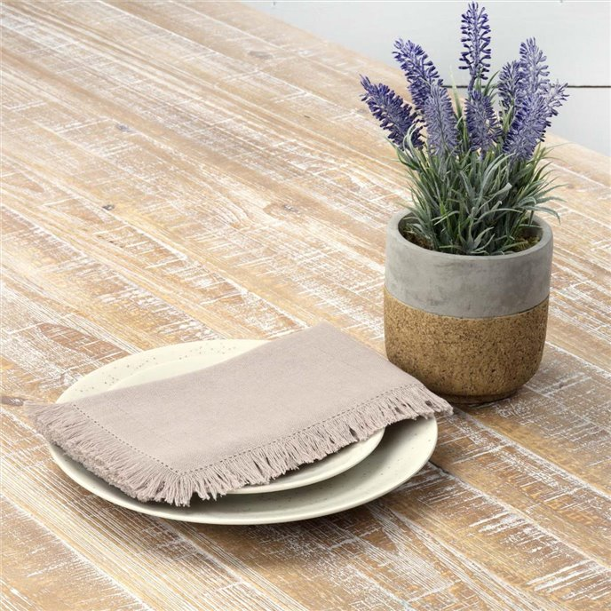 Haven Taupe Napkin Set of 6 18x18 Thumbnail