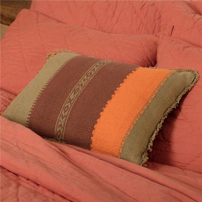 Heather Jacquard Pillow 14x18 Thumbnail