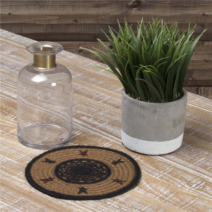 Heritage Farms Star Jute Trivet 8 Thumbnail