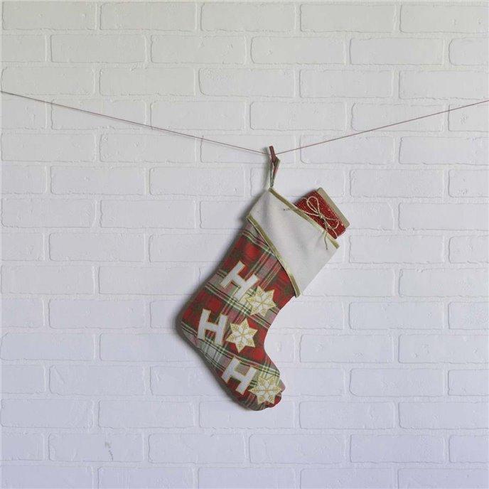 HO HO Holiday Stocking 11x15 Thumbnail