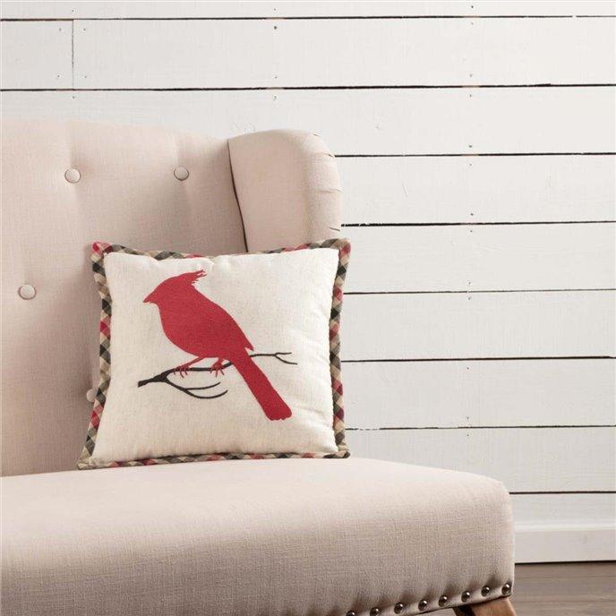 Hollis Cardinal Pillow 12x12 Thumbnail
