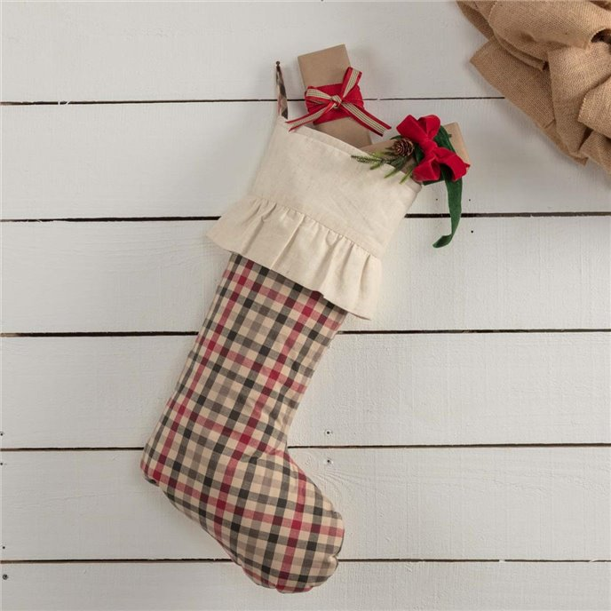 Hollis Plaid Stocking 12x20 Thumbnail