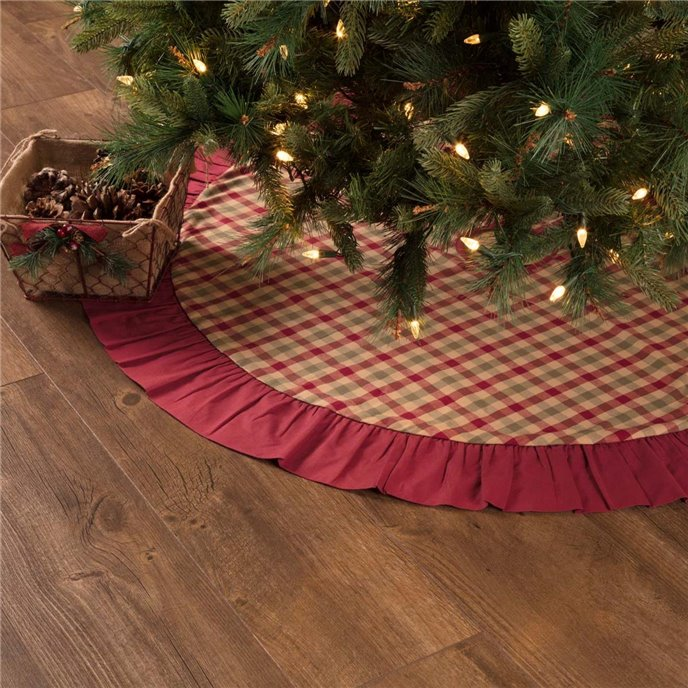 Jonathan Plaid Tree Skirt 48 Thumbnail