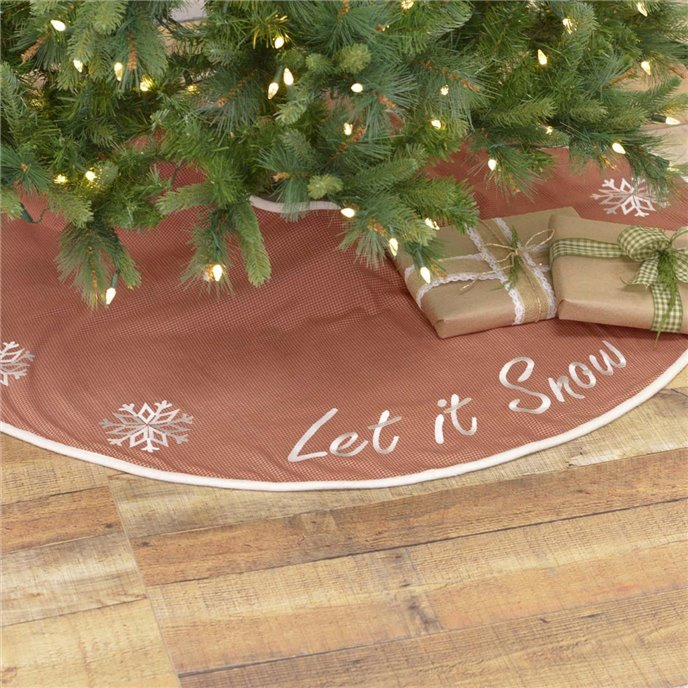 Let It Snow Tree Skirt 48 Thumbnail