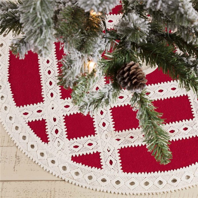 Margot Red Mini Tree Skirt 21 Thumbnail