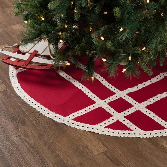 Margot Red Tree Skirt 55 Thumbnail