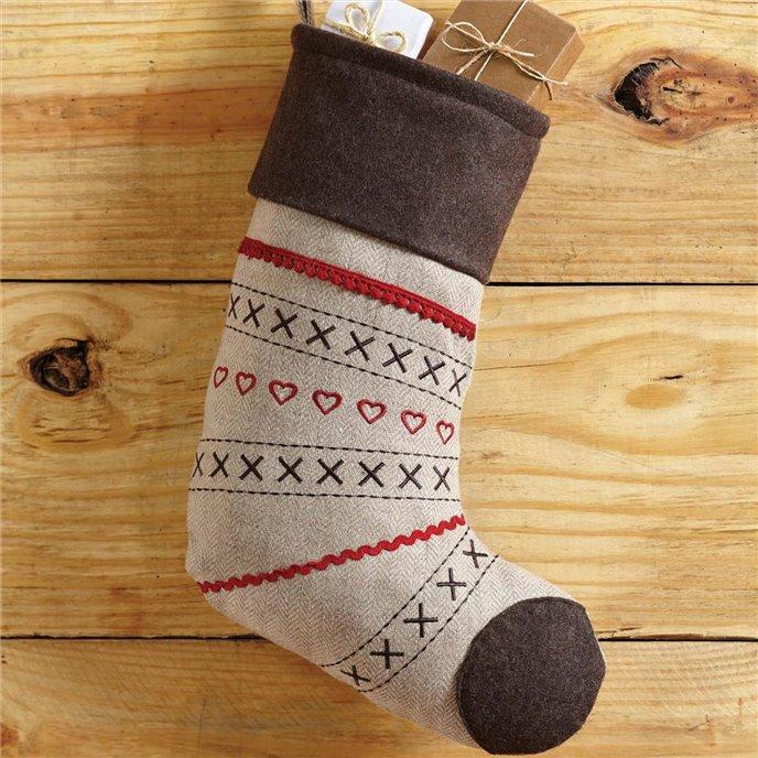 Merry Little Christmas Stocking 11x15 Thumbnail