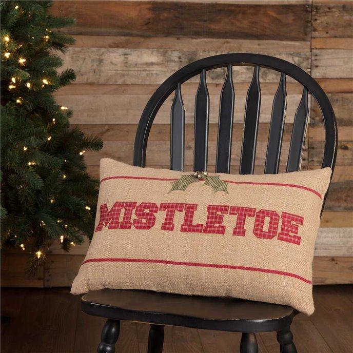 Mistletoe Pillow 14x22 Thumbnail