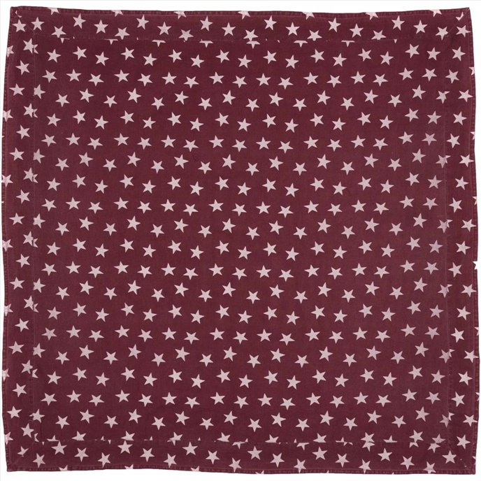 Multi Star Red Table Cloth 60x60 Thumbnail